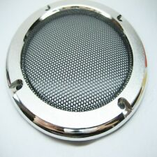 """2pcs 4""""inch Silver speaker grille decorative ring Speaker protective cover Horn"""