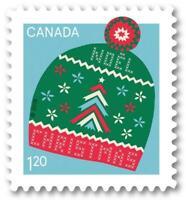 2018 Canada 📭🎅 CHRISTMAS Warm & Cozy Series 📬 CHRISTMAS TOQUE Single 🎅 MNH