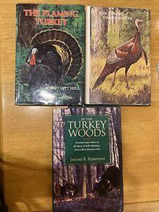LOT of 3 Turkey Hunting Books