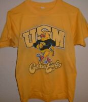 vintage 1980s Southern Mississippi Golden Eagles Football t shirt Small