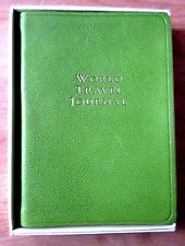 World Travel Journal Book -Maps, Address Name, Phone, Weight Conversion and More