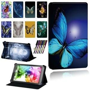 """Butterfly Flip Stand Case cover For HipStreet Titan 4 7""""/ Electron 8"""" /Pilot 10"""""""