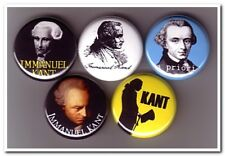 IMMANUEL KANT Buttons Pins Badges philosophy philosopher metaphysics