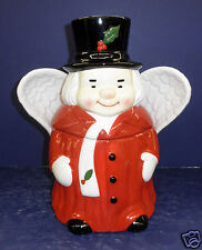 New in Box- Marshall Fields Uncle Mistletoe Cookie Jar