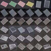 Plastic Embossing Folder Stencils Template Scrapbooking Paper Crafts DIY Crafts