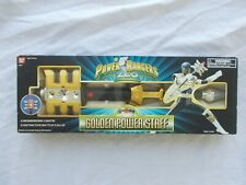 POWER RANGERS ZEO GOLDEN POWER STAFF Vtg 1995 RARE HTF BRAND NEW SEALED BOX-W0W!