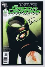 War of the Green Lanterns Aftermath #1 NM- Signed w/COA Tyler Kirkham 2011 DC