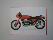 - RITAGLIO DI GIORNALE ANNO 1982 - MOTO GUZZI 850 LE MANS III