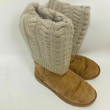 Ugg Tan Sweater Boots 7