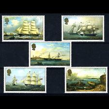Jersey 1985 barcos. 5 valores. SG 352-356. como Nuevo Nunca con Bisagras. (BH248)