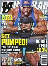 Muscular Development January 2021   Sergio Oliva Jr.