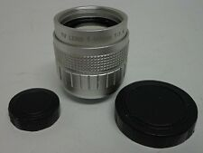 f= 50MM 1:1.4 TV TELEVISION LENS - FREE SHIPPING!!!