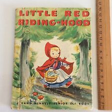 Little Red Riding Hood Rand McNally Junior Elf Book 8048 HC 1950