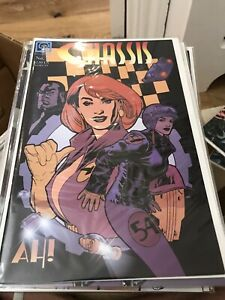 Chassis (1996) #   1 Cover A Adam Hughes Cover