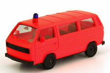 1:87 VW Volkswagen T3 Bus Feuerwehr tagesleuchtrot - herpa 4034