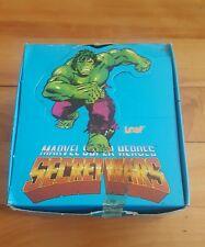 marvel super heroes secret wars full sticker box 1984 leaf/age