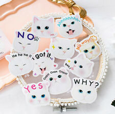 45Pcs/lot Little Cat Stationery Sticker Diary Album DIY Scrapbooking Decortion
