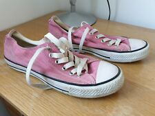 Vintage Converse All Star Pink Sneakers Trainers Unisex UK 5.5 EUR 39 US 8