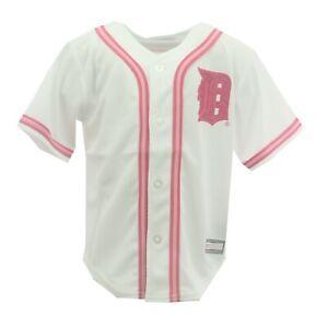Cincinnati REDS PINK Girls Baseball Jersey S M L NWT Majestic