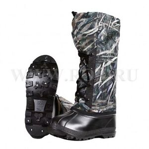 RoksNeva Hunters Fishing Winter Warm Camouflage Boots Men Inlay Stocking