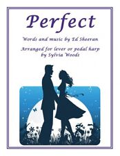 Perfect Arranged for Lever or Pedal Harp Harp Book NEW 000282960