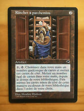 Mtg Tempest Scroll Rack French SP