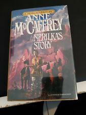 NERILKA'S STORY  Pern Anne McCaffrey 1st Ed HB Signed