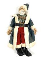 """Vintage Santa Claus 18"""" Figurine Porcelain"""