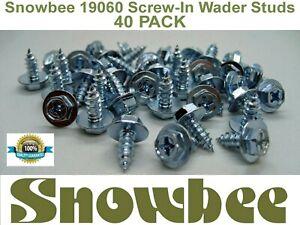 Snowbee 19060 Screw-In Wader Studs 40 Pack only £6.95  *** FREEPOST UK ***