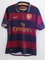 Arsenal FC Football Shirt The Gunners RARE 2007 2008 Nike Retro Soccer Jersey
