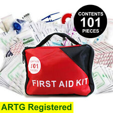 101pcs Emergency First Aid Kit - A Must Have for Every Family ARTG Registered