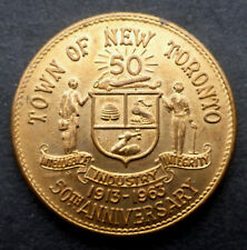 "CANADA  ""NEW TORONTO HYDRO GOLDEN JUBILEE 1913-1963"" 50TH ANNIVERSARY"