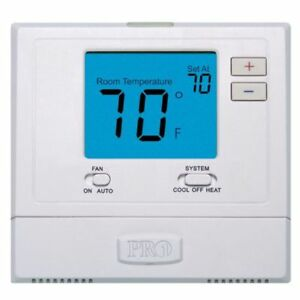 Digital Wall Electronic Non Programmable Thermostat Pro1 IAQ T701 Heat / Cool