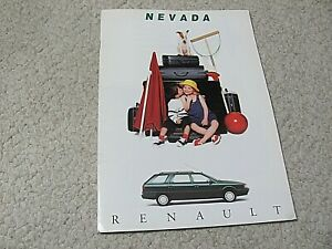 1994 RENAULT NEVADA (FRANCE) SALES BROCHURE.....
