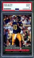 Tom Brady Rookie Card 2000 Ultra #234 PSA 9