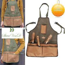 Garden Tool Apron Handy Cuttings Bag Gardening Equipment Adjustable 58x48x1cm UK
