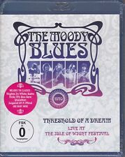 The Moody Blues - Threshold of a Dream/Live at the Isle of Wight (Blu-ray,NEU)