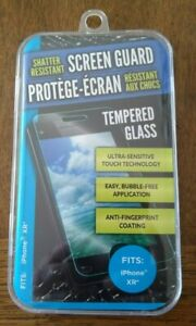 Shatter Resistant Clear Tempered Glass Screen Protector for IPhone XR 10R & 11