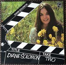 DIANE SOLOMON,TAKE TWO,VINTAGE ALBUM,LP 33,EXCELLENT CONDITION