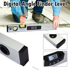 400mm Digital Angle Finder High Precision Laser Level 360° Range Inclinometer