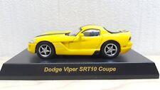 1/64 Kyosho DODGE VIPER SRT-10 YELLOW diecast car model