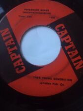 """RARE OHIO GARAGE 45/ THEE YOUNG GENERATION """"PAPERBACK MINDS""""  HEAR!"""