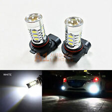 2x White 9005 15w High Power Bright LED Bulbs 5730 LED DRL/High Beam Headlight