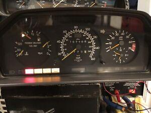 1990-1993 Mercedes-Benz W124 300E 300TE 4Matic Instrument Cluster