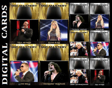 TOPPS WWE SLAM MIC MASTERY 20 [SET 10 CARDS GOLD MOTION/SILVER]