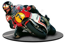 "BARRY SHEENE RACING DIGITALLY CUT OUT VINYL  STICKER. 6"" X 4"" OVERALL SIZE"