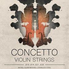 Violin Strings Set Regular Tension Violin Strings .010 - .028 - Concetto