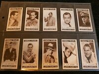 Cinema Stars - Lloyds Cigarette Cards (1935) Complete Your Set - Buy 2 & Save