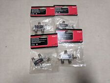 Lot of 4 New On-Q VM2202V1 2Way Digital Cable Splitter with Coax Network Support