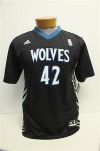 Kevin Love Minnesota Timberwolves Black Adidas Replica Jersey w/ sleeves Youth